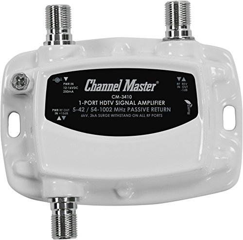 Sale!! Channel Master Ultra Mini TV Antenna Amplifier, TV Antenna Signal Booster for Improving Anten...