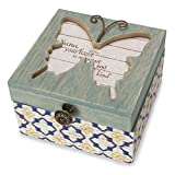 Pavilion Gift Company 41103 Simple Spirits - Patterned Butterfly Nana Jewelry Box
