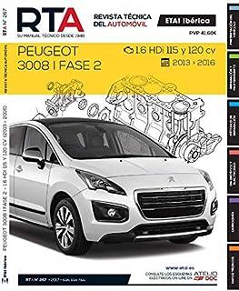 FELLOJA Manual DE Taller Peugeot 3008 Desde -2013-16 1.6 HDI R267+Chaleco Reflectante
