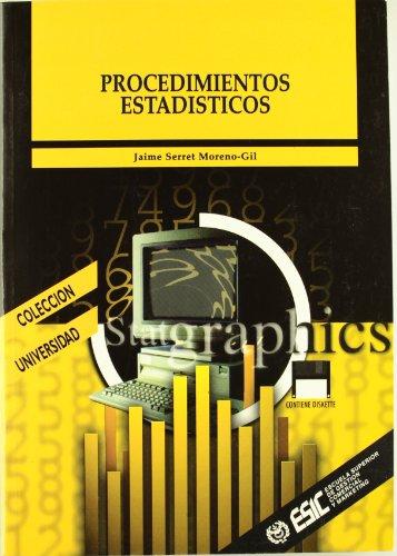 Procedimientos estadísticos con statgraphics (Libros profesionales)