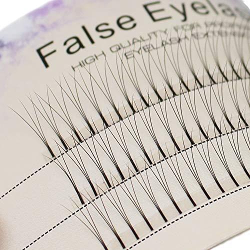 Scala 0.1 C Curl 120pcs 8-16mm to Choose Individual Lashes Black False Eyelash Natural Long Cluster Extension Makeup Beauty Health Makeup Fake Eyelashes (11mm)