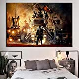 wojinbao Kein Rahmen Leinwand Gedruckt ng Wandkunst Mad Max