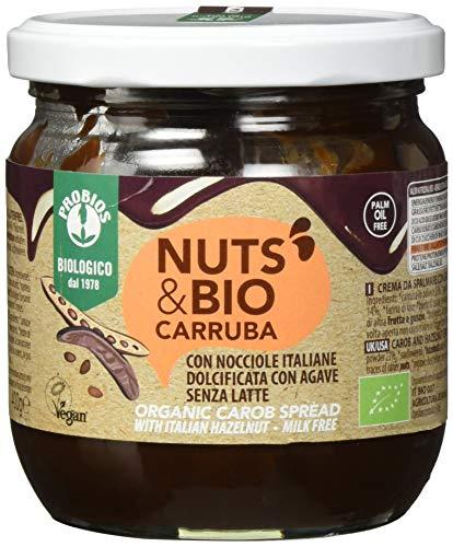 PROBIOS Nuts & Bio Carobe-Aufstrich - Ohne Milch, Ohne Zucker, 1er (1 x 400 g)