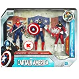 キャプテンアメリカ ムービー BOX ブリテン+キャップ+レッド ガーディアン [おもちゃ&ホビー]