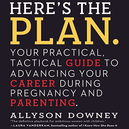 Here's the Plan. audiobook cover art