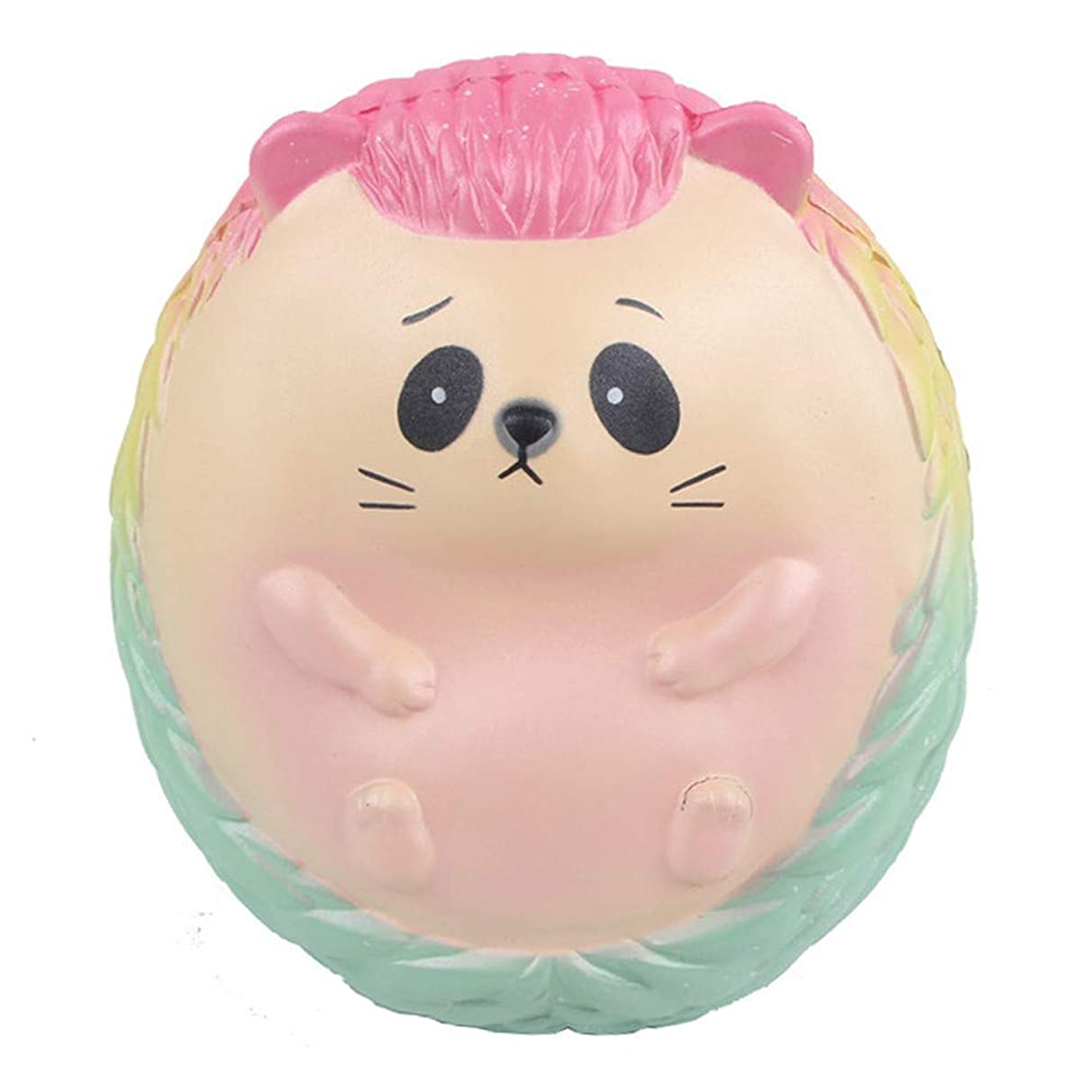 Livoty Squishies Jumbo Super Giant Galaxy Hedgehog Toys Soft Slow Rising Squeeze Stress Relieve Toy