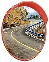 トラフィック広角レンズ 道路は安全ミラー、クリアミラー屋外広角レンズは、車両ブラインドスポットミラー直径を回し回し:30-120CM適した安全性を ガレージミラー凸型ミラー (Color : #1, Size : 120CM)