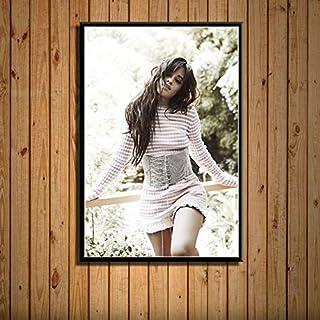 Mengyun Store Camila Cabello Pop Star Music Singer Arte De La Pared Imagen Lienzo Pintura Moderna Mural Decoración para El Hogar Pintura Sin Marco Carteles E Impresiones R-356 (50X70Cm)