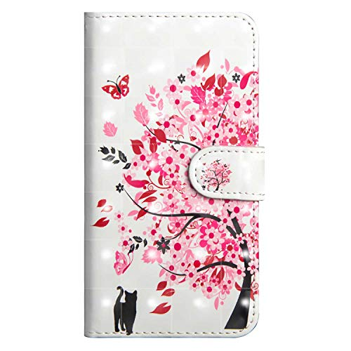 Bravoday Xiaomi MI 5X Leather Wallet Case, Flip Case with [Kickstand] [Card Slots] [Magnetic Closure] Flip Notebook Cover Case for Xiaomi MI 5X-Tree