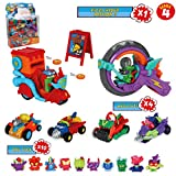 Pack SuperThings Serie 4 Pizza Riders Mission 3 y 14 Sets