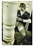 armardi Kurt Cobain Poster Fahne Sepia