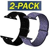 INZAKI Compatible Cinturino per Apple Watch Cinturino 38mm,40mm, Cinturino Orologio Bracciale in per iWatch Series 5/4/3/2/1,Blu...
