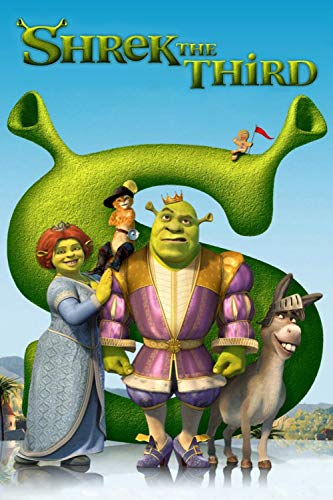 zupjl Jigsaw Puzzles For Adults,Shrek The Third 1000 Pieces Jigsaw Puzzle Educational Intellectual Decompressing Fun Family Game