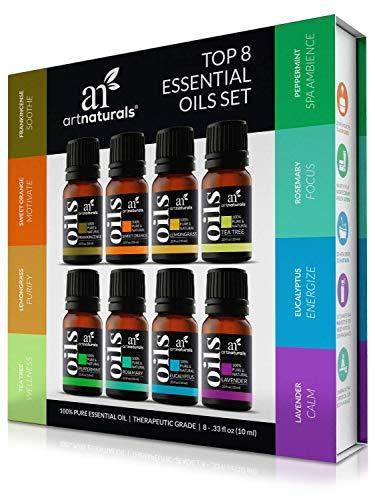 ArtNaturals Therapeutic-Grade Aromatherapy Essential Oil Collection