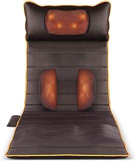 Colchón masajeador, colchón Calefactor eléctrico Multifuncional para Ancianos en el hogar, Almohadilla de Masaje automática de Cuello/Cintura/Hombros (175 * 61 cm)