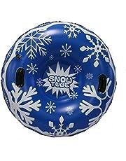 Suppemie Uppblåsbar snörör uppblåsbar skridskoåkning uppblåsbar släde Snow Tube med handtag är mycket lämplig för barn och vuxna.