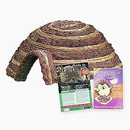 Wildlife World Hedgehog Care Pack – (Igloo, Food & Guide)