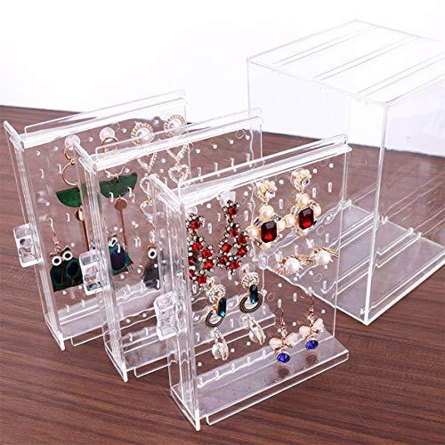 Heaviesk A11 PS Pendiente Caja de Almacenamiento Moda Decoración Regalo de Mujer...