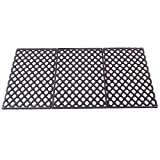 Unifit 19.4 Inch Diamond Pattern Porcelain Enamel Coated Cast Iron Sear Grate Grid Cooking Replacement Parts for Traeger and Pit Boss Pellet Grills (Traeger 34 and Pit Boss 1000XL 1100pro Series)