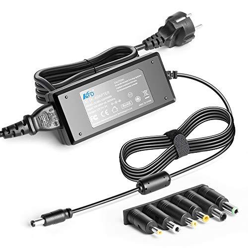 KFD 60 W CC 12 V 5 A universal alimentador cargador para Western Digital WD My Cloud EX2, Synology DiskStation DS218+ DS218J DS216J DS216 LED Backlit Monitor LED CCTV DVD HU LCD con 6 puntas