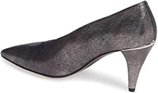 Womens Lizzy Leather Pointed Toe Classic Pumps, Grey, Size 6.0