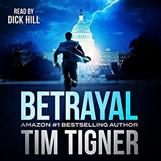 Betrayal audiobook cover art