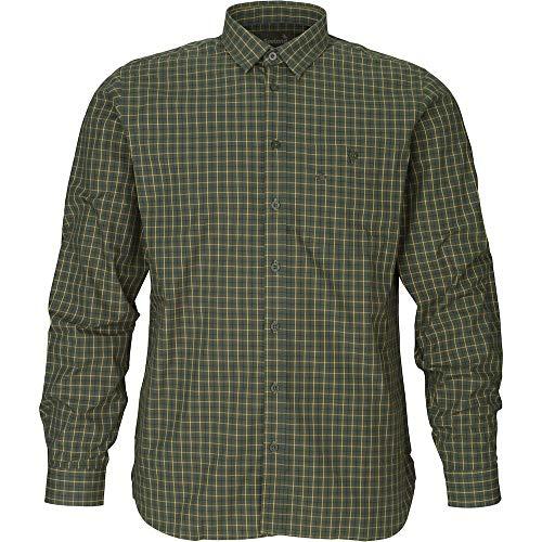 Seeland Warwick Hemd Pine Green Check Jagdhemd Jagdshirt (L)