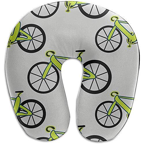 Warm-Breeze Bestes Memory Foam Kissen Fahrrad Rad Radspiel Sport Sport U-förmiges Memory Foam Nackenkissen Reisekissen