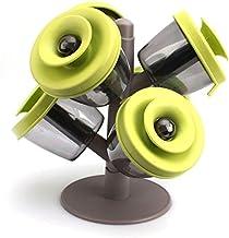 طقم توابل بوب اب من فاين لايف- 6 قطع، اخضر