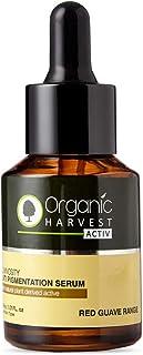 Organic Harvest Activ Anti Pigmentation Serum, Helps in Reducing Pigmentation & Wrinkles, ECOCERT & PeTA Certified, Paraben & Sulphate Free