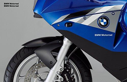 snstyling.com Pegatina para Encajar BMW Motorrad Pegatina 12cm 2 Piezas Conjunto (Negro)