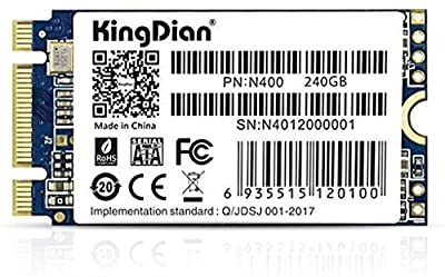 KingDian M.2 NGFF SSD 120GB 240GB 512GB 1TB Solid State Drive Disk 2242 for Desktop PCs and MacPro (512GB) from KingDian