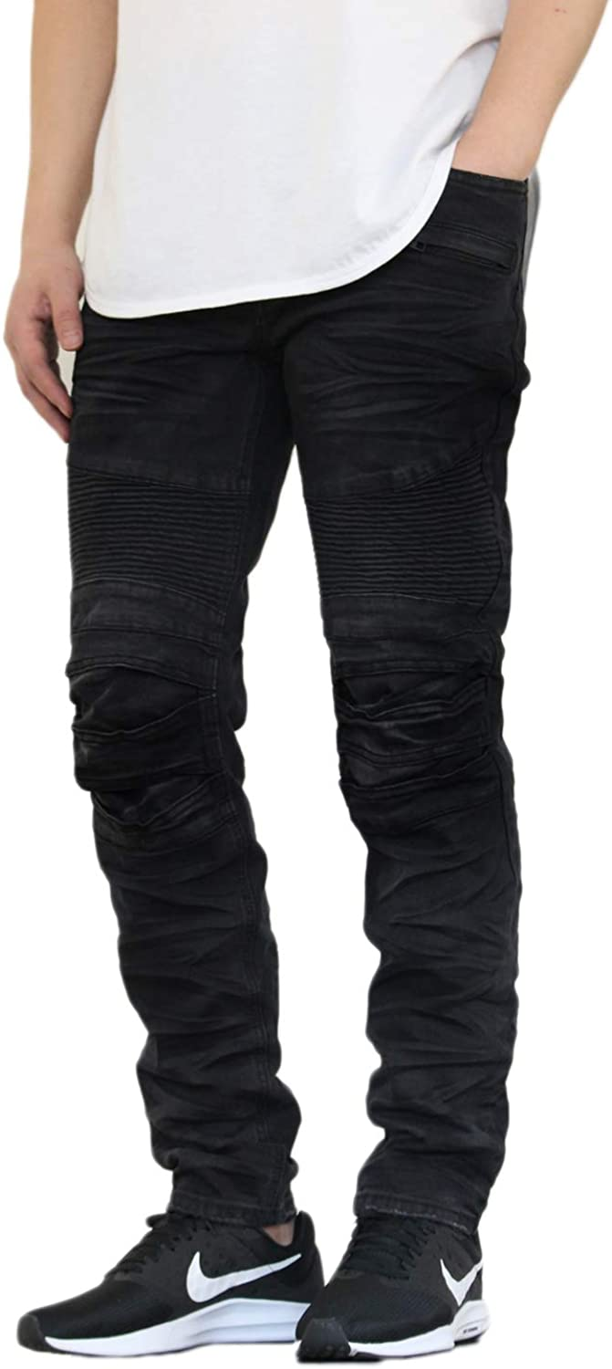 Selling VICTORIOUS AIRNINE Men's Stretch Jeans Distressed Louisville-Jefferson County Mall