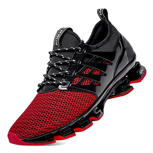 mens red tennis shoes