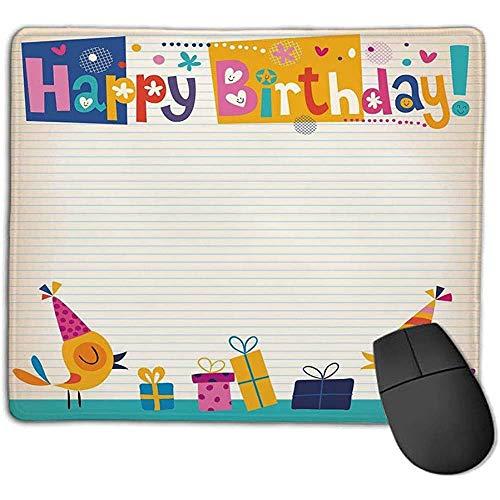 Muis Pad Bundel Muis Mat Pad Verjaardag Decoraties voor Kinderen Cartoon Kleurrijke Afbeelding Party Vogels met Kegels Surprise Boxen