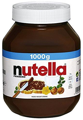 Nutella Nuss-Nougat-Creme, 1000 g