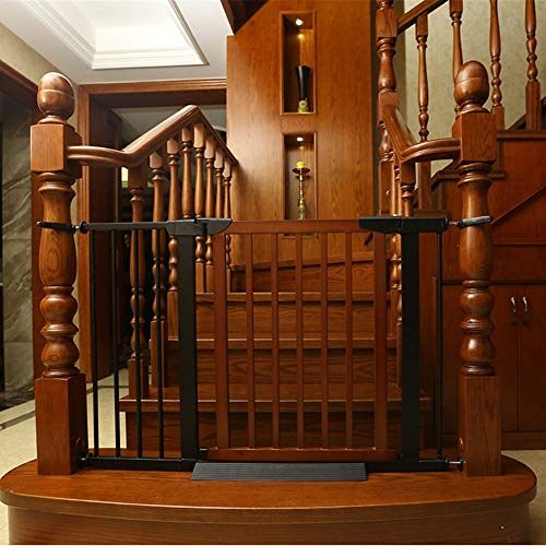 Great Deal! Child Safety Gate, Baby Stair Protection Fence Pet Fence Dog Fence Pole Balcony Isolatio...