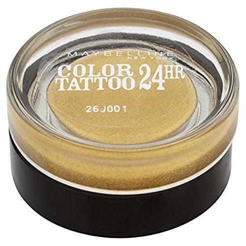 Maybelline New York Set - Volume Express The Rocket Mascara plus Lidschatten Color Tattoo 75 Gold