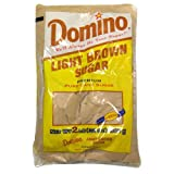 2 Pound bags of Domino Light Brown Sugar (PACK OF 3)