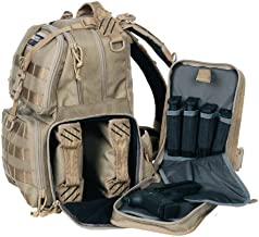 G.P.S. T1612BPT Tactical Range Backpack, Tan
