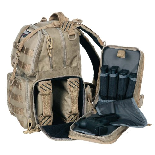 G.P.S. T1612BPT Tactical Range Backpack