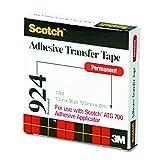 Scotch Adhesive Transfer Tape, 1/2 Wide x 36 Yards