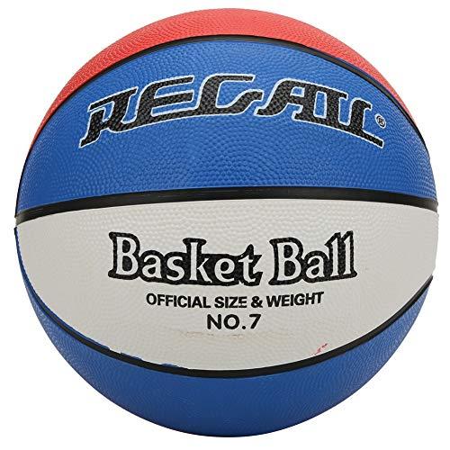 TAKE FANS Baloncesto profesional estándar del tamaño 7 de goma de tres colores para los estudiantes que entrenan el tamaño 7 de la bola de enseñanza