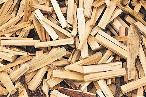 TNNature getrocknetes Anzündholz, Anmachholz und Brennholz aus Kiefer und Fichte | Holz aus nachhaltiger Forstwirtschaft| sofort einsetzbar | 25 cm Länge (30)