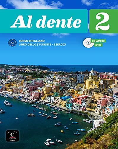 Al dente 2 Libro dello studente + esercizi + CD+DVD: Al dente 2 Libro dello studente + esercizi + CD+DVD (ITALIEN NIVEAU ADULTE 5,5%)