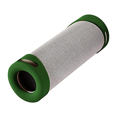 Cubierta de silicona portátil para altavoz Sony SRS-XB23, Sony SRS-XB23 Audio inalámbrico impermeable cubierta protectora al aire libre (verde)