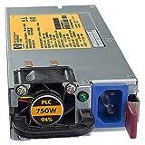 Hp - 750W Cs He (92% Efficiency) Power Supply - Nota: Para Servidores Proliant G6/G7 Que Admiten Fuentes 'Common Slot'. En Caso De Requerir Redundancia, Las Fuentes Deben Ser Iguales.