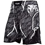 VENUM Tecmo Pantalones Cortos de Entrenamiento, Unisex Adulto, Gris Oscuro, XL