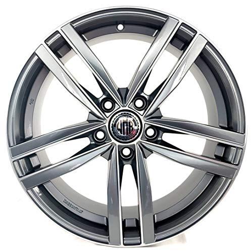 Dark ad 1 llanta de aleación 7,5J 17 5X112 ET45 66,5 para Audi A3 A4 Q2 Volkswagen Golf 5 6 7 Passat Mercedes Clase A Made in Italy