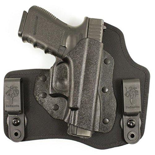 Desantis Invader IWB Tuckable Holster,Glock 43,Right Hand,Black